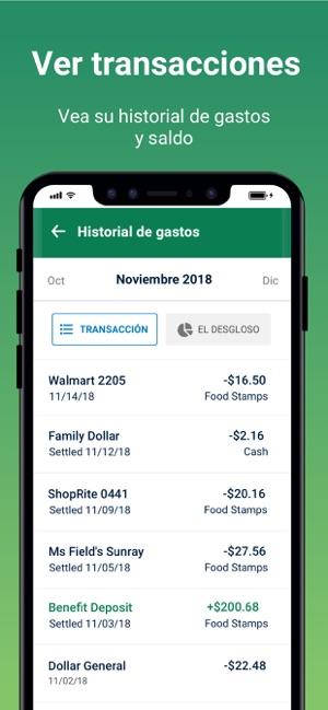 Fresh Ebt Food Stamp Balance En App Store