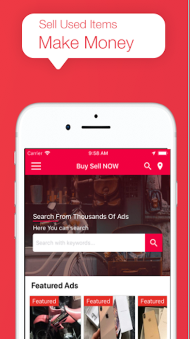 Buy Sell Now - Classified Ads Screenshot