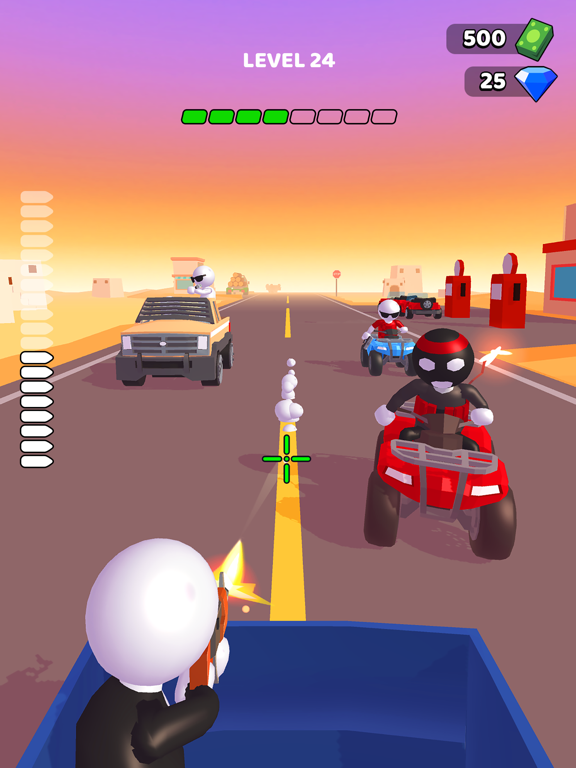 Rage Road - Car Shooting screenshot 8