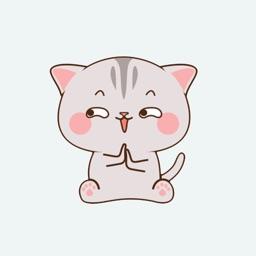Destiny cat stickers