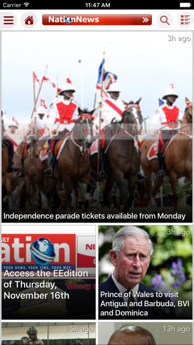 Barbados Nation News screenshot one