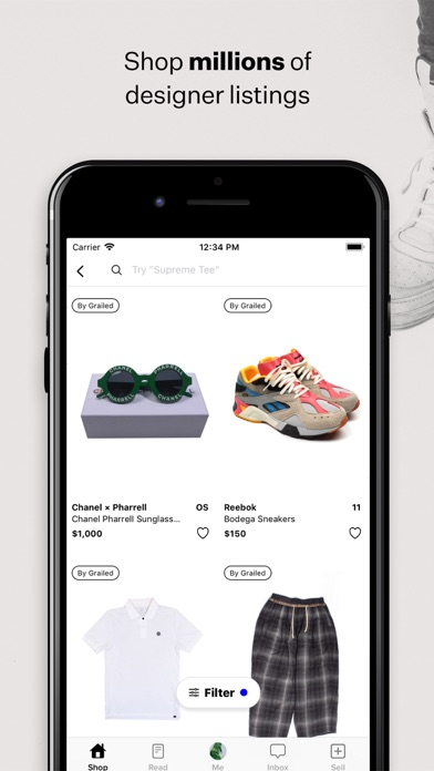 Screenshot #3 pour Grailed - Buy & Sell Clothing