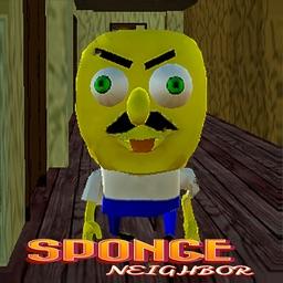 Scary Sponge Neighbor : Escape