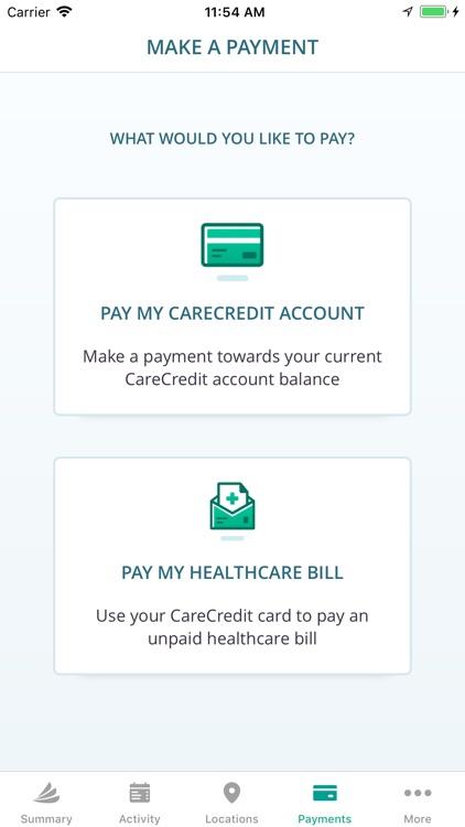 CareCredit Mobile App screenshot-3