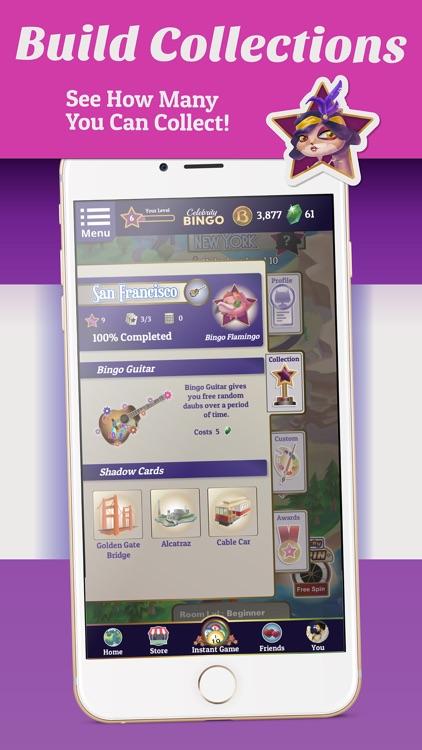 Bingo Offline Celebrity Bingo screenshot-4