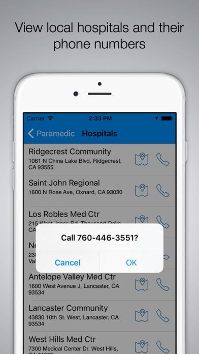 La County Paramedic review screenshots