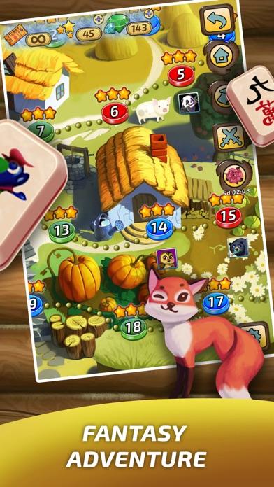 Mahjong Village screenshot two