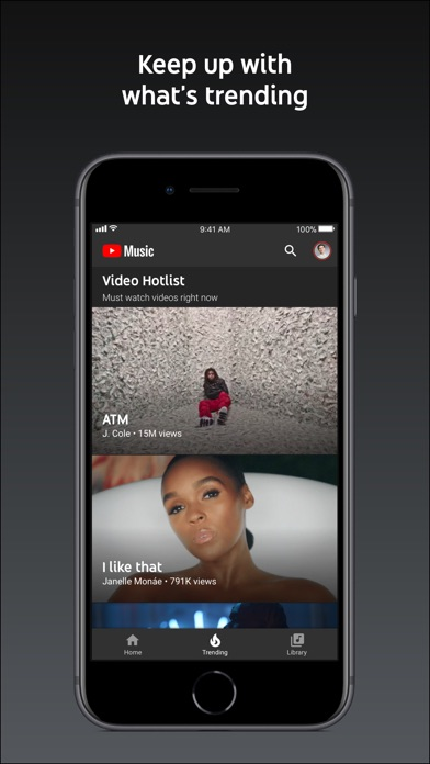 Screenshot for YouTube Music in Canada App Store