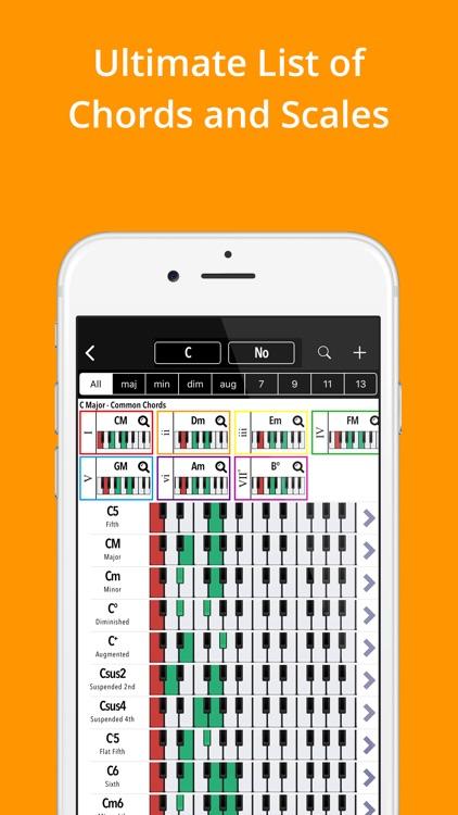 Piano Companion PRO: chords screenshot-0