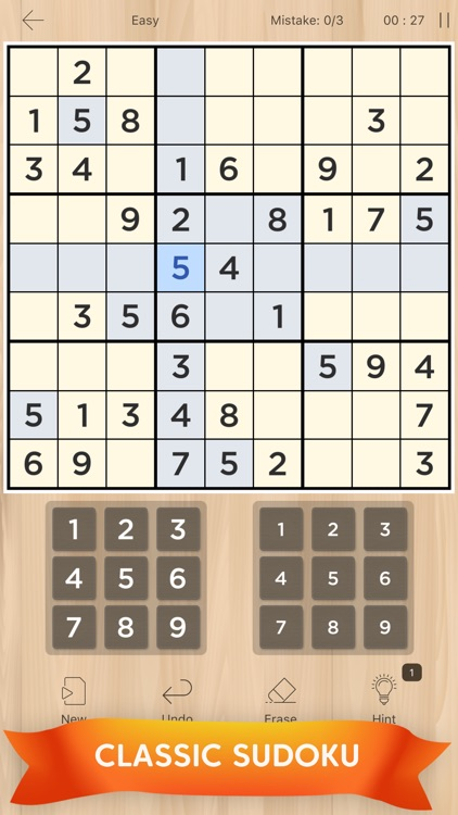 Sudoku: Classic Puzzle Game screenshot-0