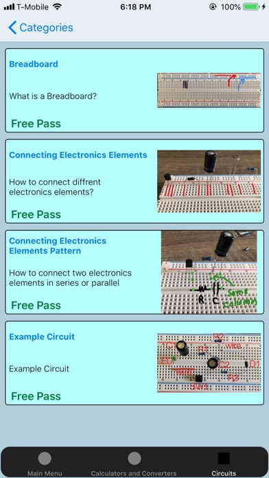 Electronics Calculators Screenshots