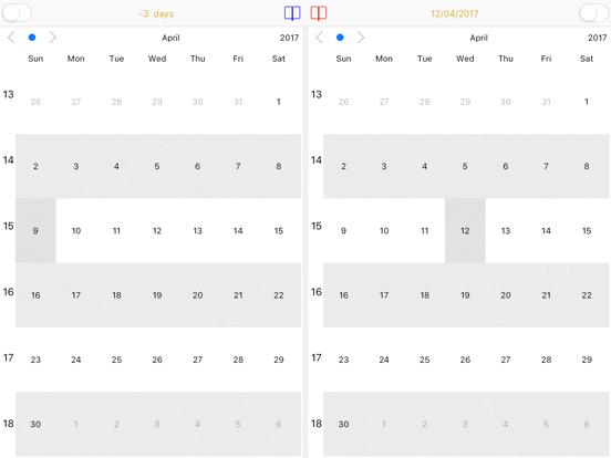 Dual Calendar - CalendarX2 Screenshots