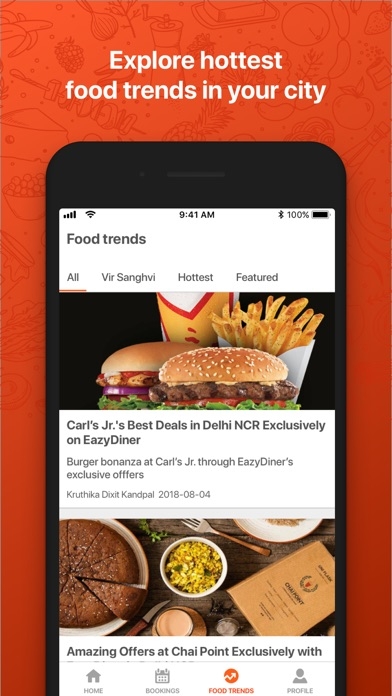 Screenshot for EazyDiner - Table Reservations in United Arab Emirates App Store