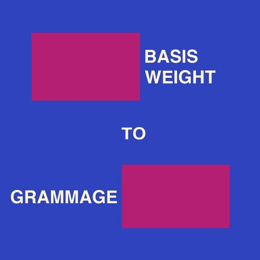Basis Weight To Grammage