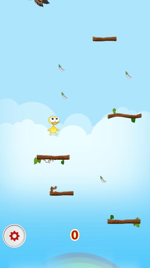 Jumps Of Little Yellow Chicken App 截图