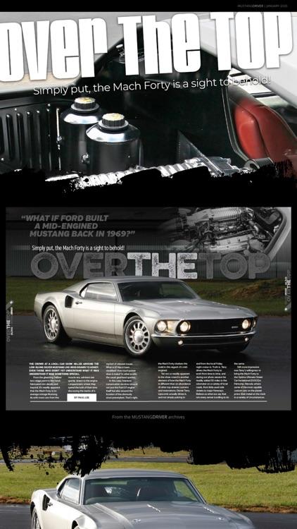 Mustang Driver Magazine screenshot-3