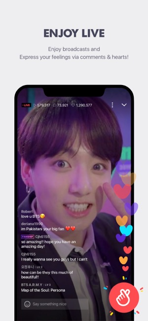 V LIVE - Global Star Live app on the App Store