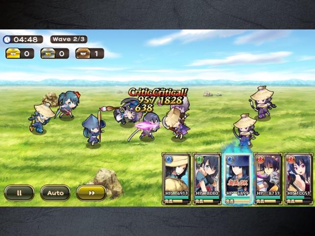 戦国アスカZERO【戦国街づくり×SDバトル】 Screenshot