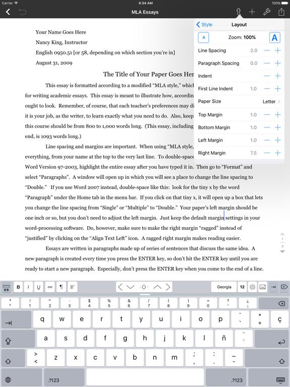 Textilus Pro Word Processorのおすすめ画像3