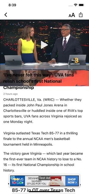 WRIC 8News - Richmond, VA on the App Store
