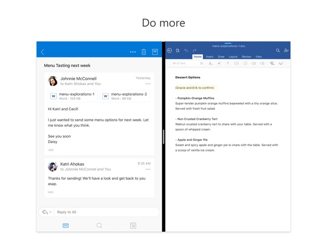 9deb5727e9d052  Microsoft Outlook on the App Store