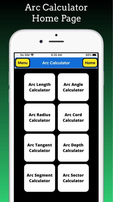 Arc Calculations screenshot 1
