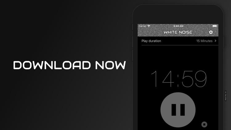 White Noise Baby Calming Sound screenshot-7