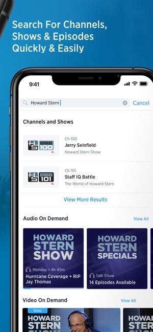 satellite radio app for android phone