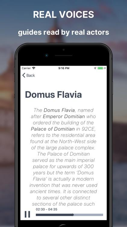 Roman forum & Palatine Guide screenshot-9