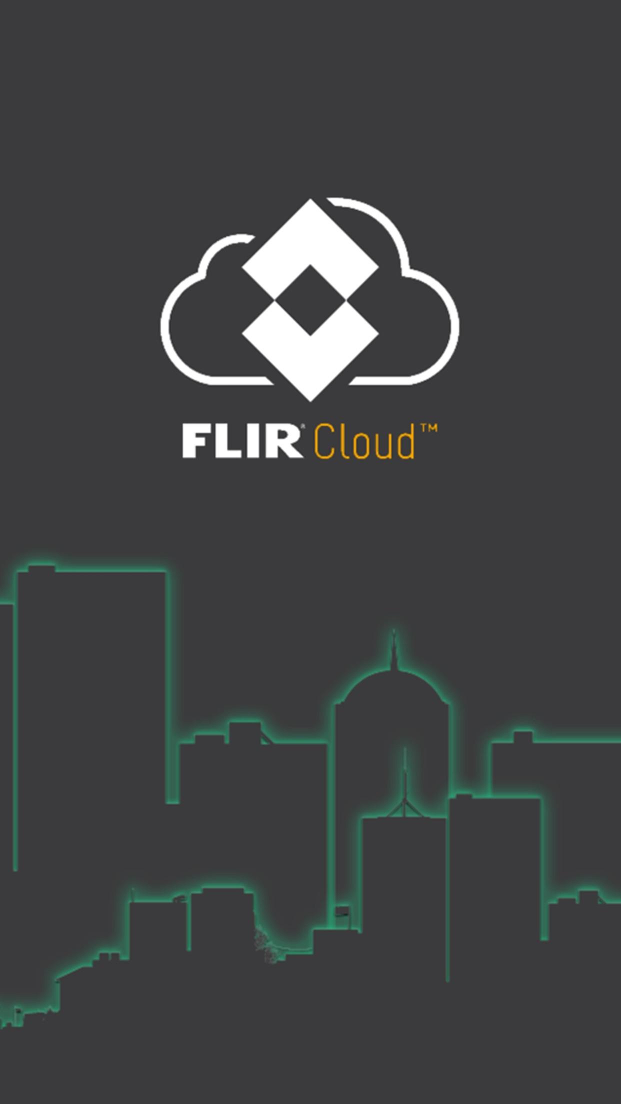 FLIR Cloud Screenshot