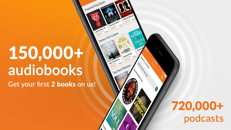 Audiobooks.com: Get audiobooks screenshot-0