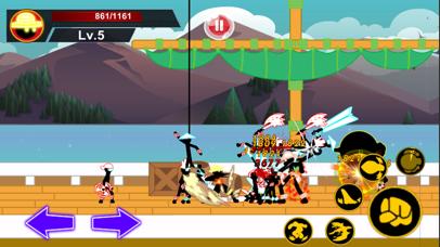Stick Hero Pirate Fight Man screenshot 1