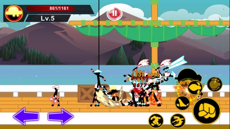Stick Hero Pirate Fight Man
