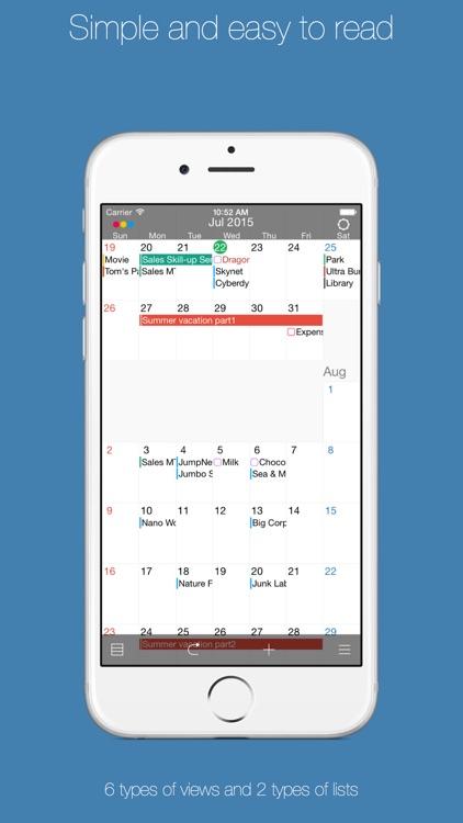 Coyome Calendar