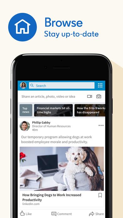Screenshot for LinkedIn: Network & Job Finder in United States App Store