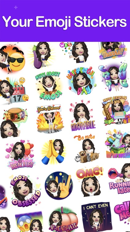Moji Edit- Emoji Yourself screenshot-2
