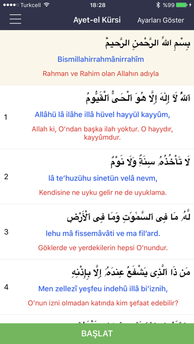 Ayetel Kürsi Duası screenshot one