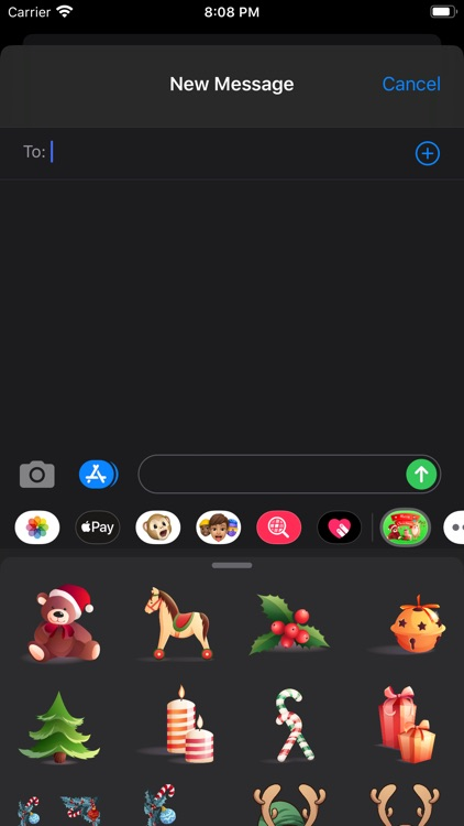 Merry Day stickers