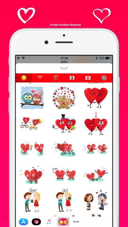 Love Emoji - Cute & Adorable screenshot-7