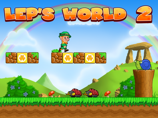 Lep's World 2 - Игры Прыжки на iPad
