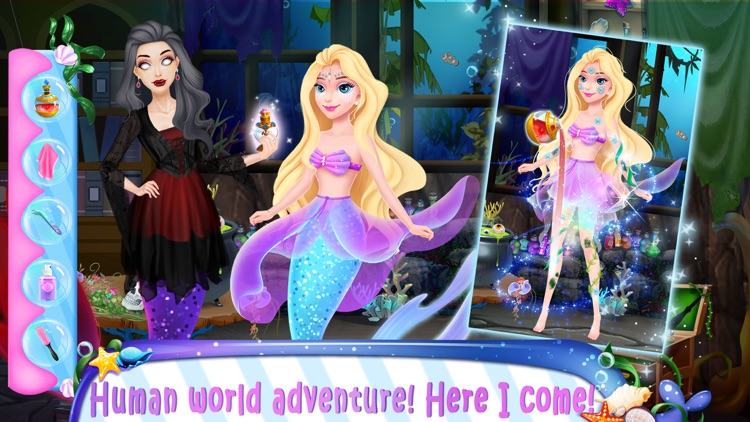 Girl Games: Secret Mermaid screenshot-3