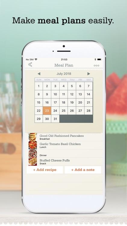 OrganizEat - recipe organizer screenshot-4