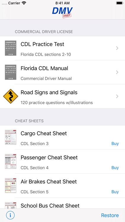 Florida CDL Test Prep screenshot-0