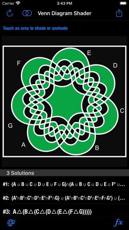 Venn Diagram Shader screenshot-8
