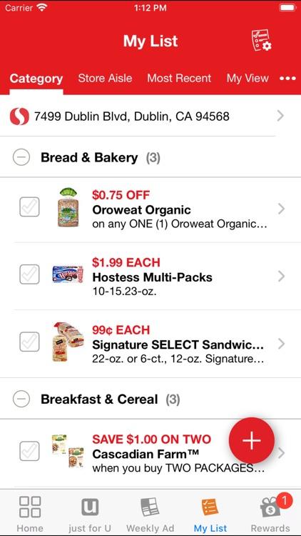Safeway Deals & Rewards screenshot-3
