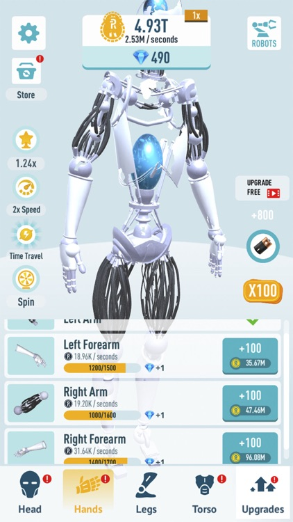 Idle Robots - Robo Clicker screenshot-3
