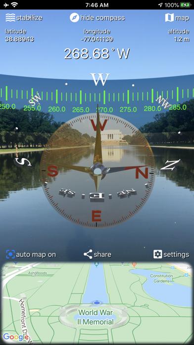 CompassTip screenshot 2