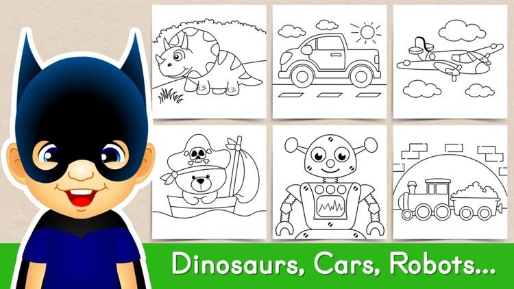 Tashi Coloring Games for Kids screenshot-7