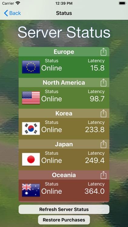 Server Status For :  Fortnite