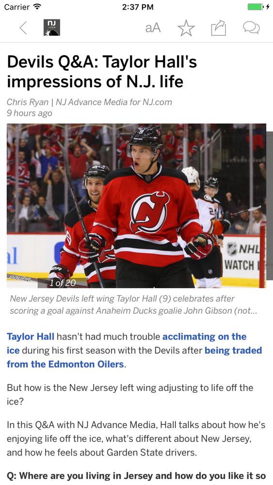 new jersey devils news